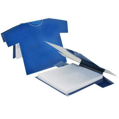 Custom-Tee shirt shaped post-it sheets
