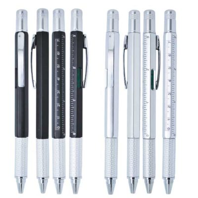 Pen-w-measurements-Black-Silver