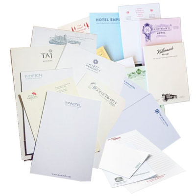 writing pads with customisable logo