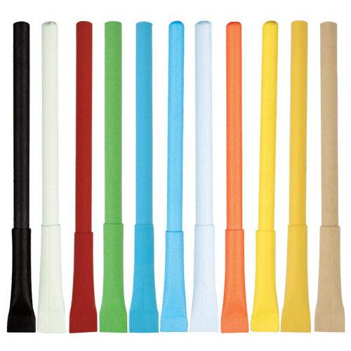 Colourful eco pens
