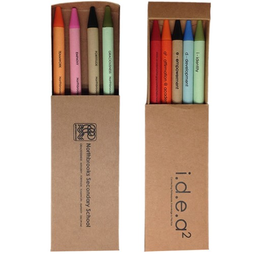Recycled Paper barrel pen with recycled box
