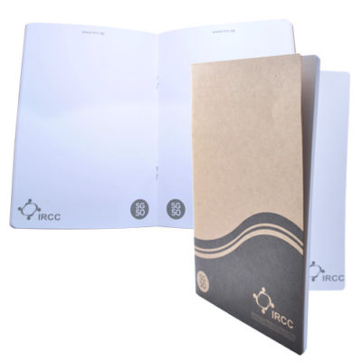 A5 eco-friendly softcover notebook