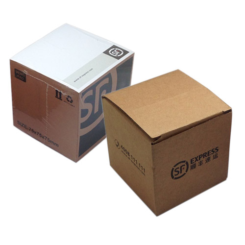 memo cube papers with printing