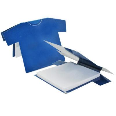 Custom-Tee shirt shaped post-it sheets