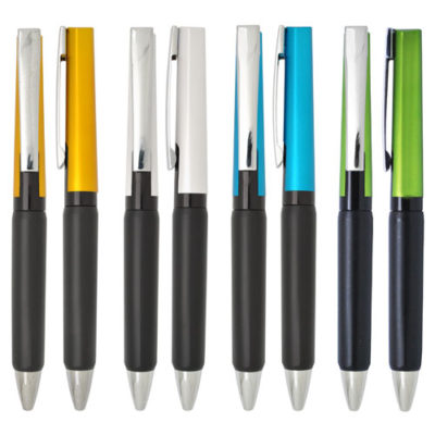colourful and sleek design pen