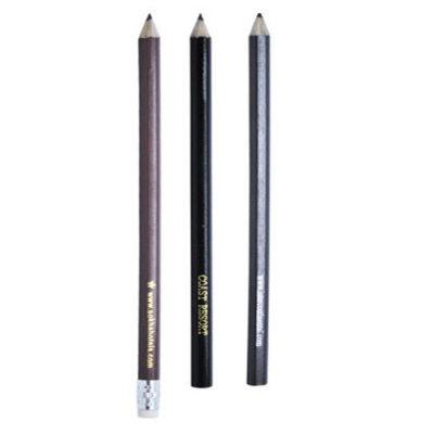 Long wooden pencil