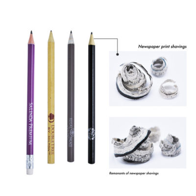 pencils with shavings